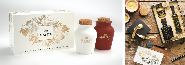 UNILEVER - MAILLE – COLLECTION MOUTARDES D'EXCEPTION & COFFRET TRUFFE LAFAYETTE GOURMET