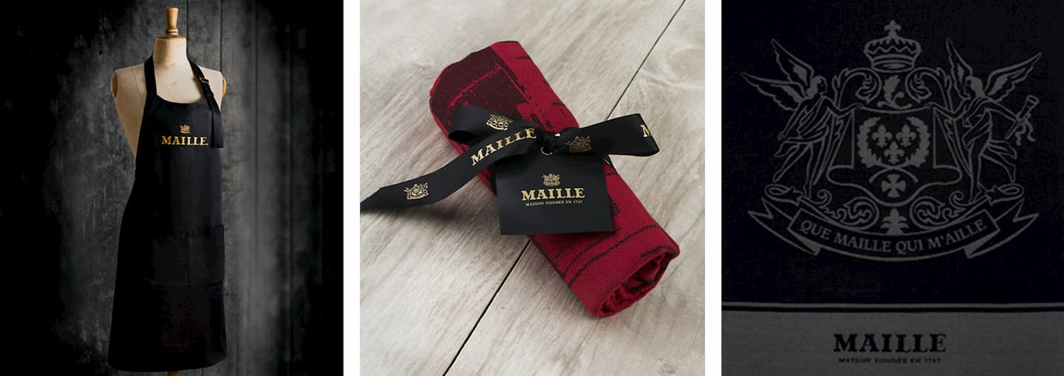 UNILEVER - MAILLE – TEXTILES – COLLECTION TABLIER TORCHONS