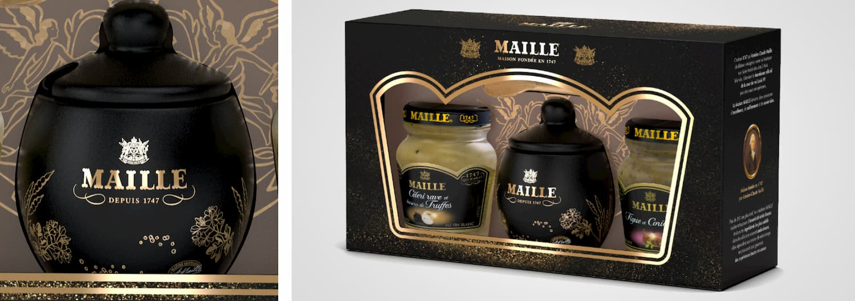 UNILEVER - MAILLE – COFFRET MOUTARDE GMS